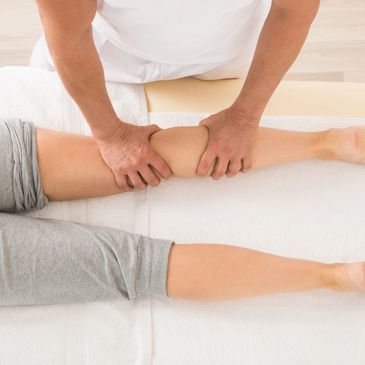 Physiotherapy treatment and sports massage image