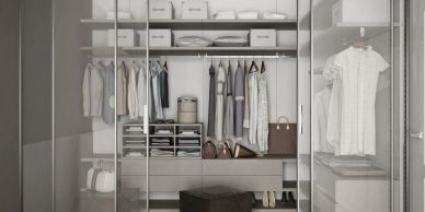 decluttered wardrobe, less stuff, mindful, living with less, organised, Carrie Ottolini
