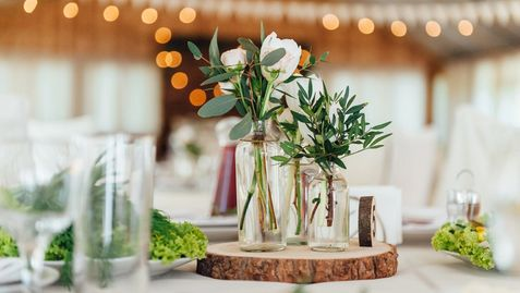 Diy wedding flowers in huntington beach love n bloom flower shop diy wedding centerpiece junglespirit Choice Image