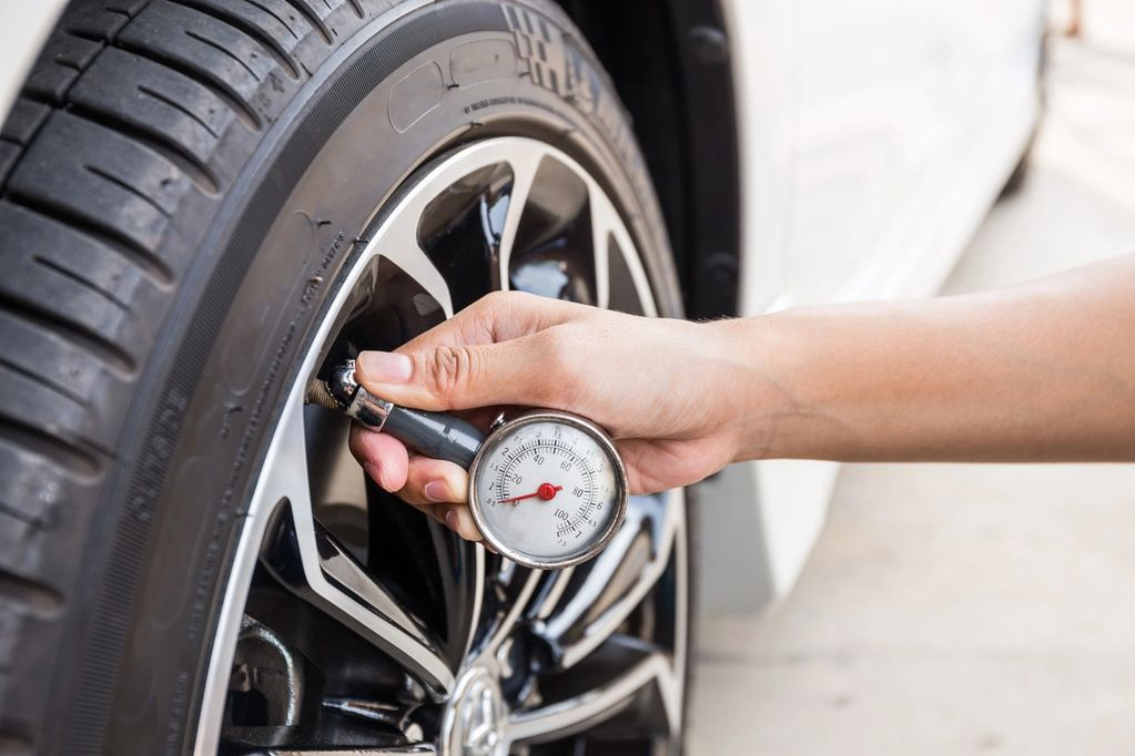 Tires, Flat tire, low air pressure, tire puncture, plug tire, tire tread, tire weights, alighnments.