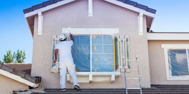 exterior home painting, interior home painting. trim painting