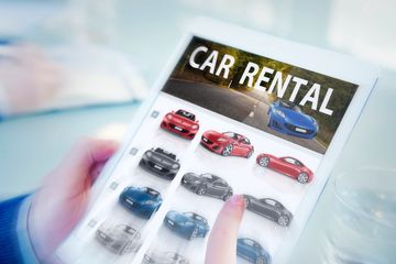 Our collision centre works with Entreprise Rent-A-Car and Discount Car Rental.  We can book your rental directly from our shop and the rental company will pick you up from our shop.
