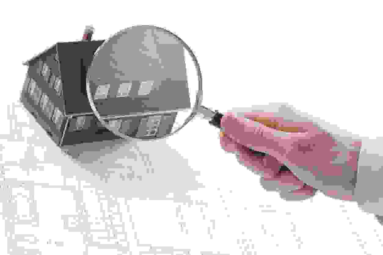 Home inspection under a magnifying glass