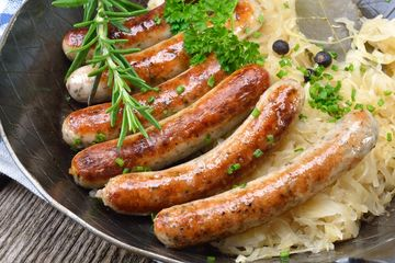Sausages, traditional family favourites