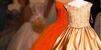 quinceanera  dress for party at circle j ranch