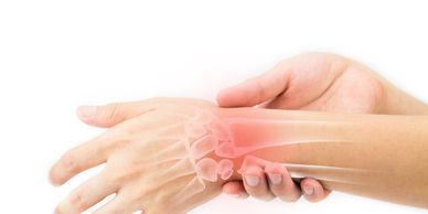 wrist pain carpal tunnel arthroscopy chronic pain weakness wrist doctor shooting pain thumb finger