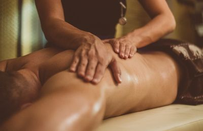 Gentle specialized massage to help move fluid congestion that causes swelling and pain.