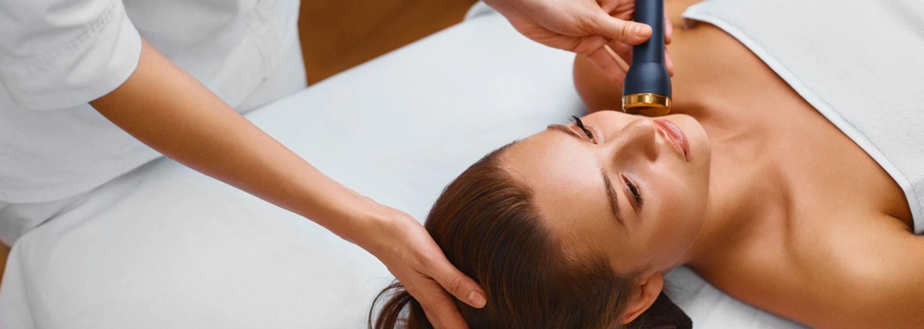 Radio frequency facial can reduce wrinkles and fine lines, aiming to help you look and feel younger.