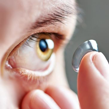 We design contact lenses for every specific vision need, any activity and any age..