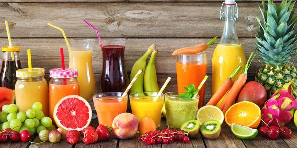 fruits and veggies juices
