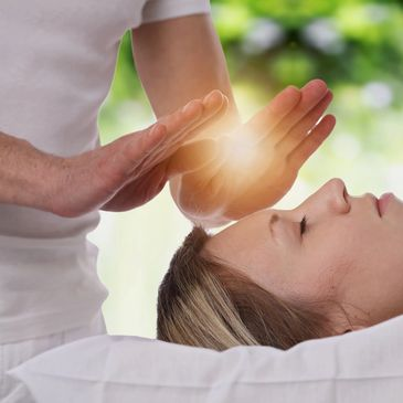 Reiki is for stress reduction and relaxation that also promotes healing.
