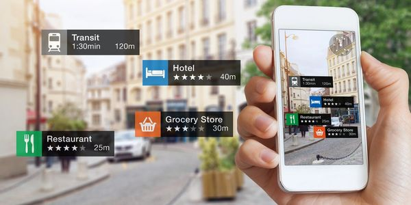 Integrate location based Augmented reality. Most used in travel and tourism. Bats-Hub pioneers this.