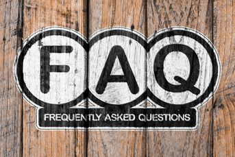 Image of Frequently Asked Questions. Click to visit our F A Q page.