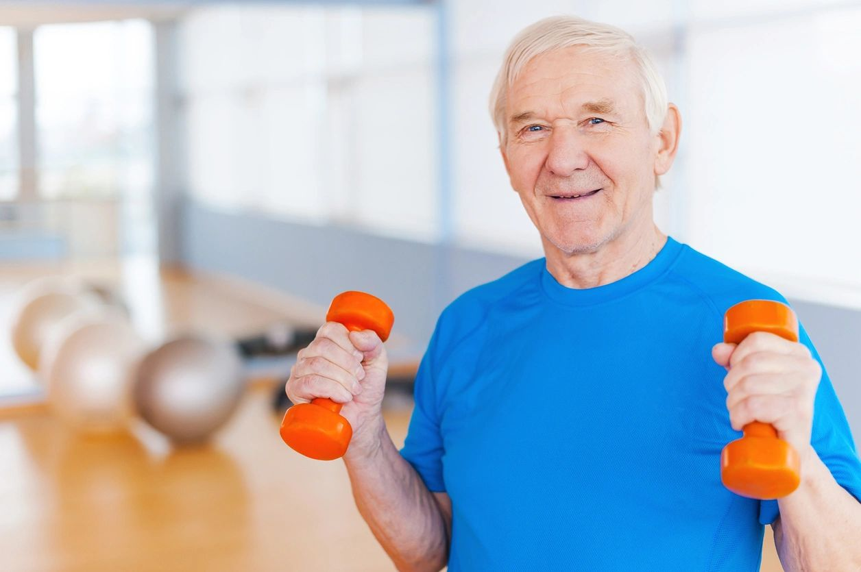 In home and online Senior Strength training at 55plus.fit personal training in Dover Delaware
