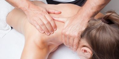 sports massage! Deep tissue massage and streching techniques