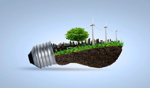 RENEWABLE PLATFORMS OFFERED BY UTILITYWORKS IN A LIGHT BULB