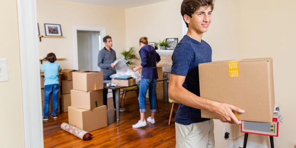 Helping the VA buyer or seller and their family move.