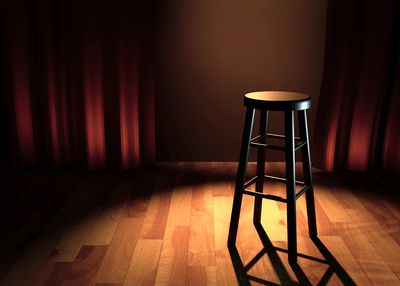 The Light Inside Guests Stool.