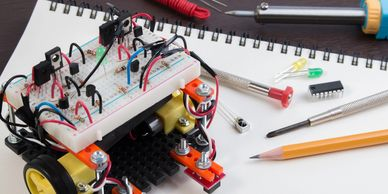 A robot kit is a special construction kit for building robots, especially autonomous mobile robots.
