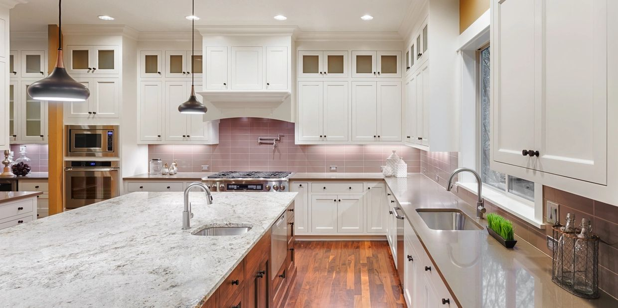 Luxury kitchen inside a Jacksonville, Florida home