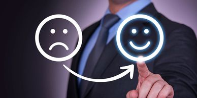 Turning unhappy customers in to happy clients.
