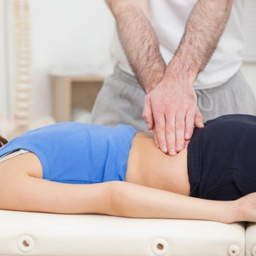 Lumbar spine manual treatment image