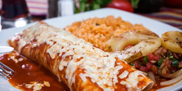 Enchiladas in Las Cruces New Mexico