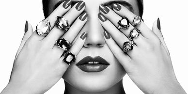 nails photoshoot