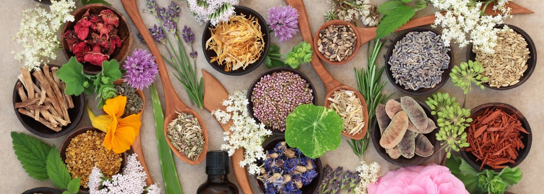 essential oil blends of different flowers