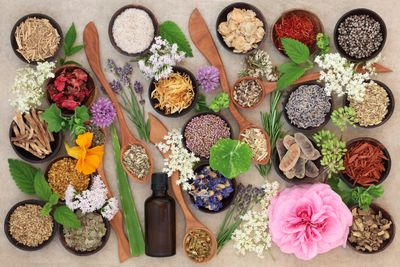 Try herbs in different ways: fresh, dried, powdered, & extracted oils.