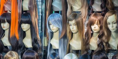high-end, top of the line, affordable, mink wigs and synthetic wigs