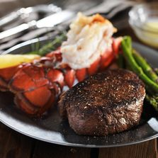Seafood, Lobster, steak and seafood, prime rib, filet mignon, Lake Placid, Adirondacks