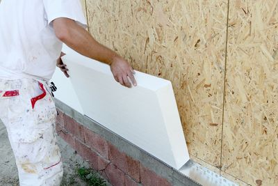 Vapor install or reset, foam or regular insulation.