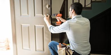 Commercial & residential door and door hardware installation and replacement.
