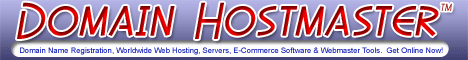 Domain Hostmaster for Domains, Websites, Hosting and Server Solutions