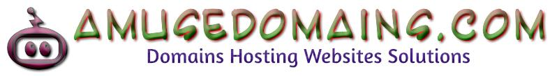AMUSEDOMAINS.COM