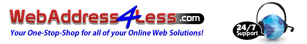 WEB ADDRESS FOR LESS