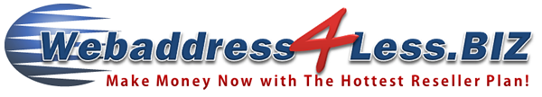 WEBADDRESS4LESS.BIZ   Reseller Business Programs