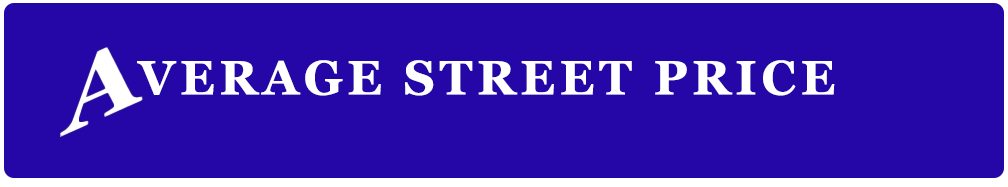Average Street Price