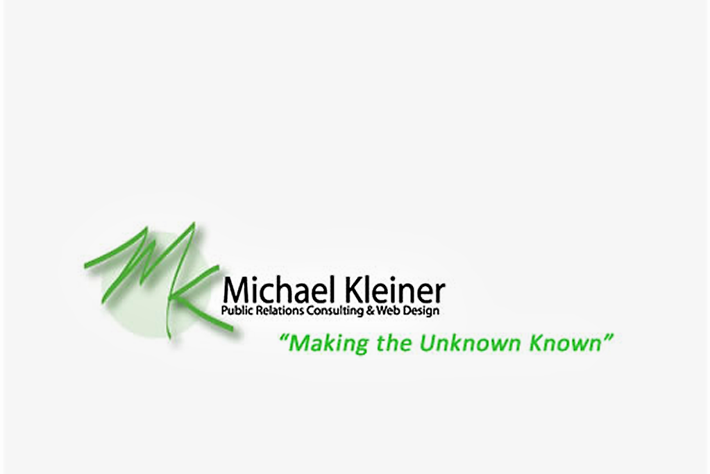 Michael Kleiner Public Relations and Web Design
