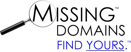 MISSING DOMAINS