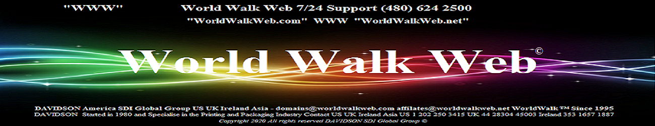 WWW - Davidson ICT - World Walk Web - Digital Marketing Affiliates - Davidson SDI Global Group - Printing Industry Experts - US UK Ireland Asia Since 1980 www.DavidsonWw.com/contact 1980 2020 © Call +1 202 250 3415