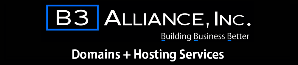 B3 Alliance - Domains + Hosting Services