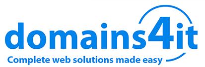 Domains4it | Domain names | Website builder