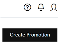Click Create Promotion