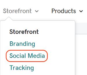 Cliquez sur Réseaux sociaux