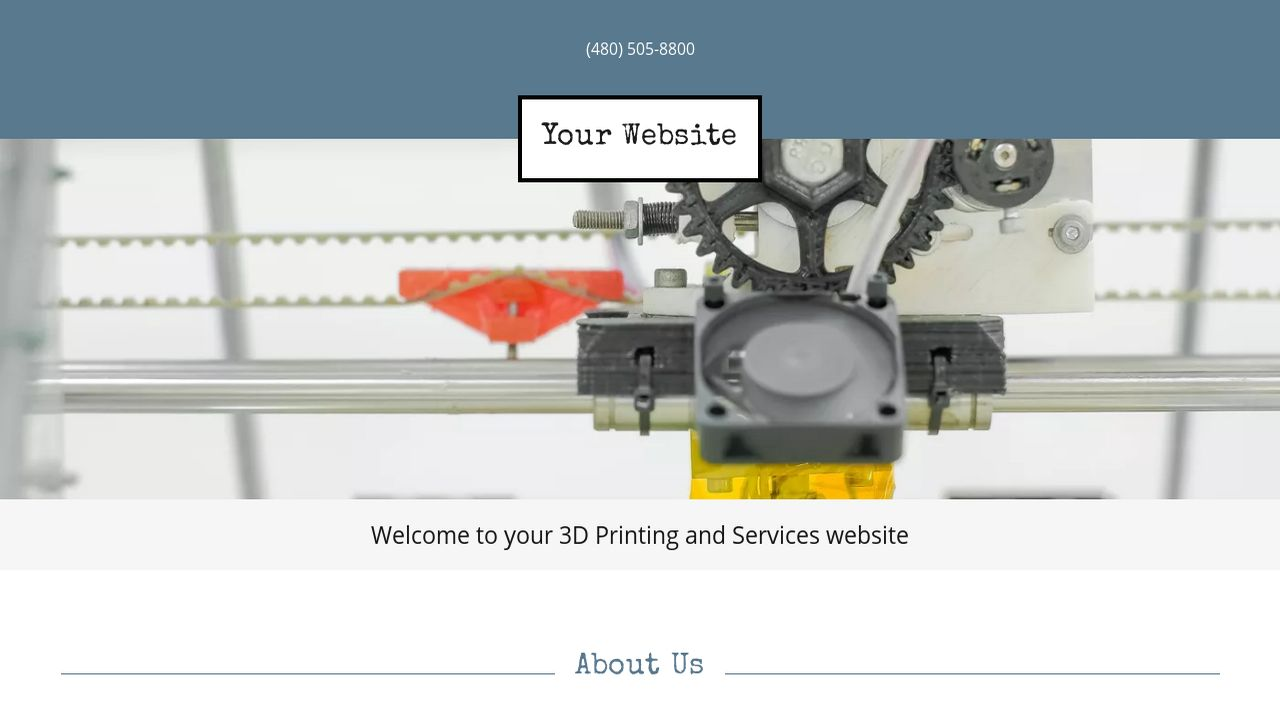 3D Printing and Services Website Templates | GoDaddy