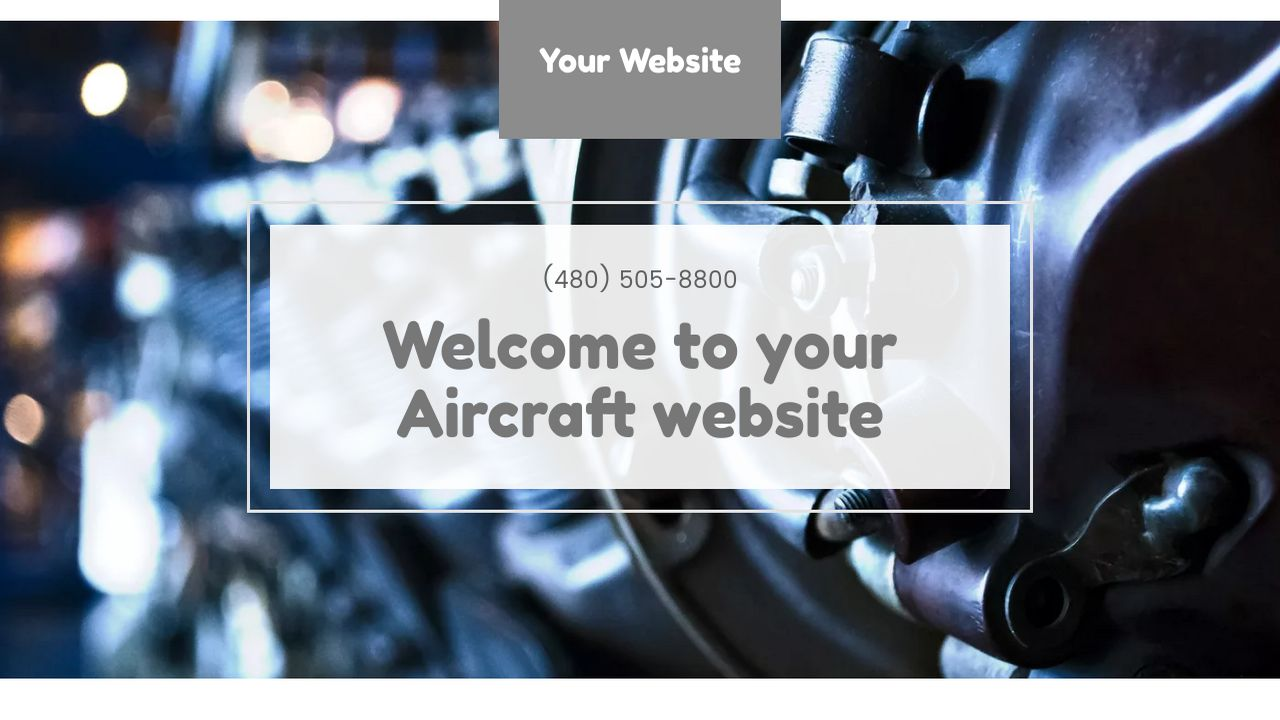 Aircraft Website: Example 11