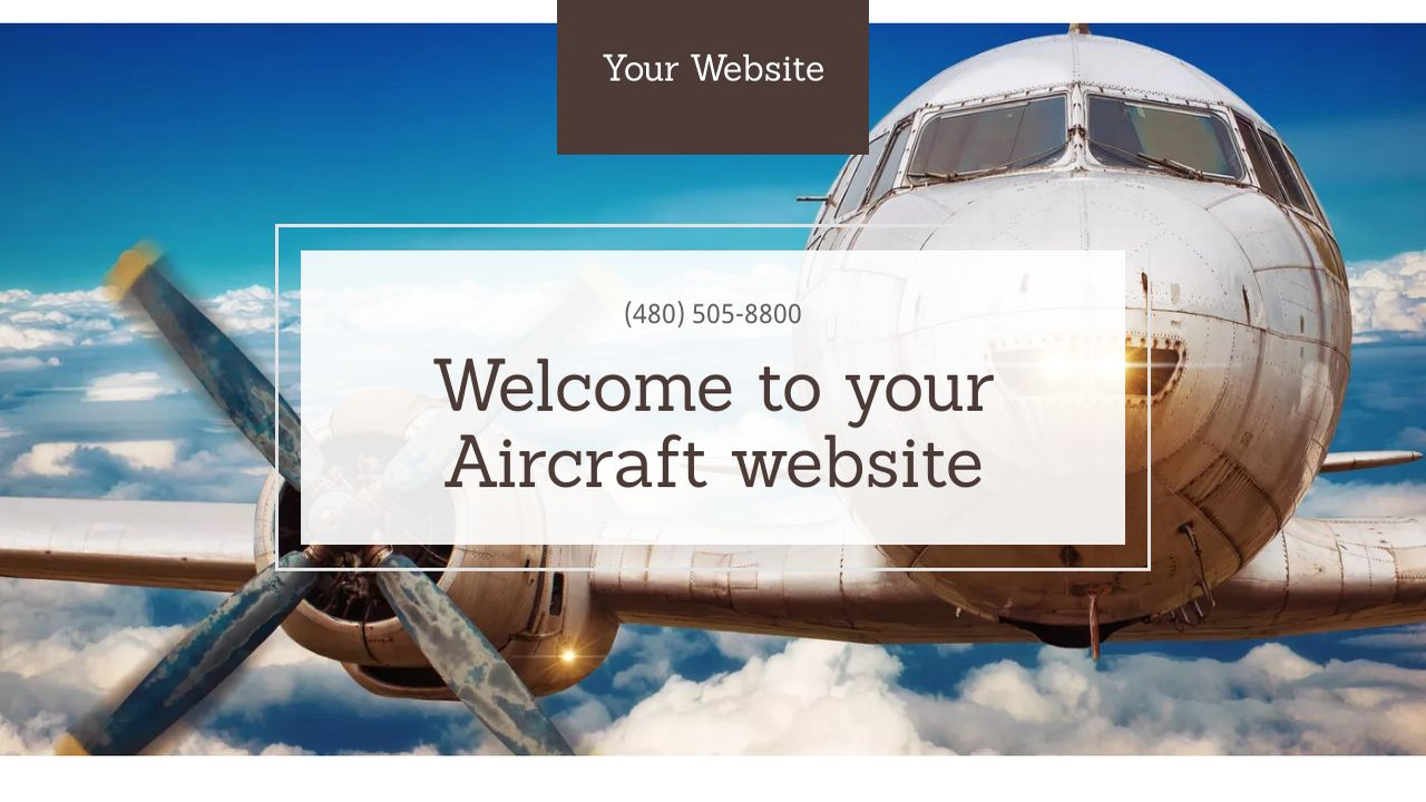 Aircraft Website: Example 4