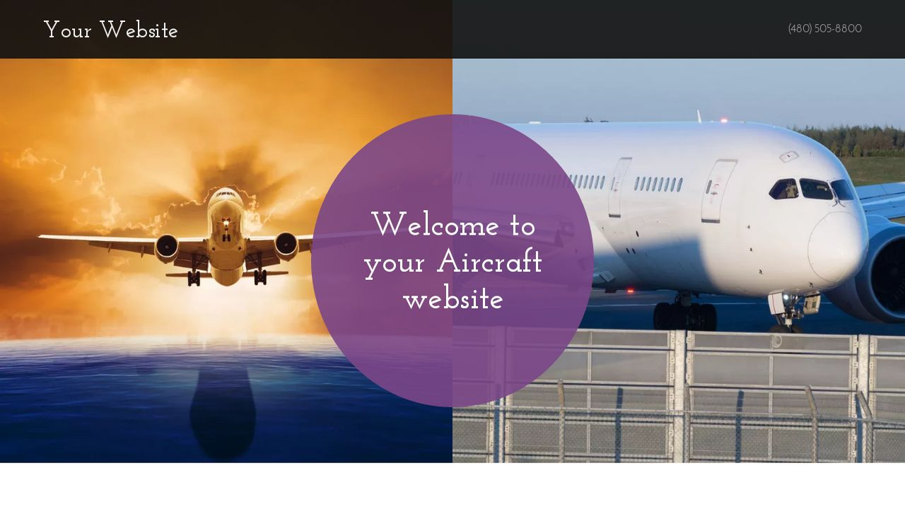 Aircraft Website: Example 5